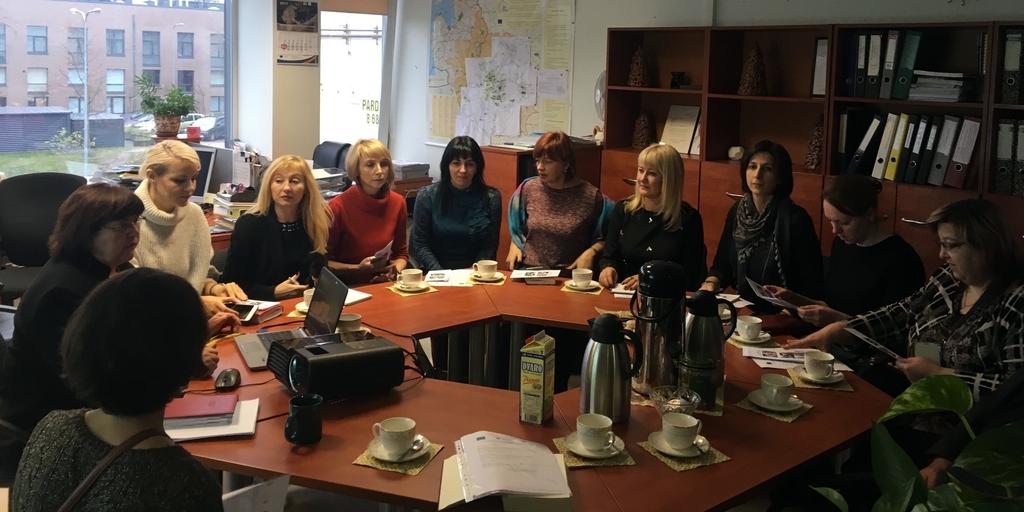 Дневник учебного визита в Вильнюс в рамках кампании «Деинституализация»